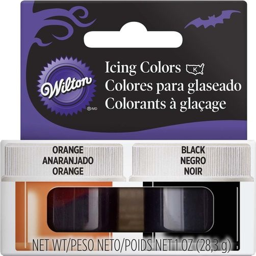 Wilton Halloween Icing Colors