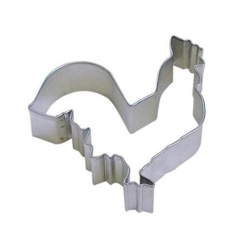 4″ Rooster Cookie Cutter
