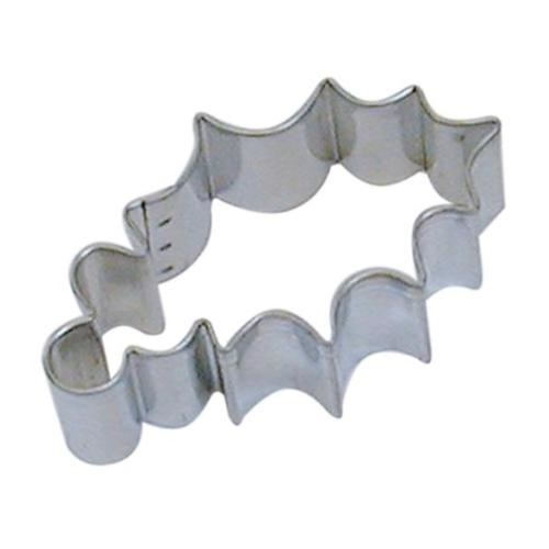 3.25″ Holly Leaf Cookie Cutter