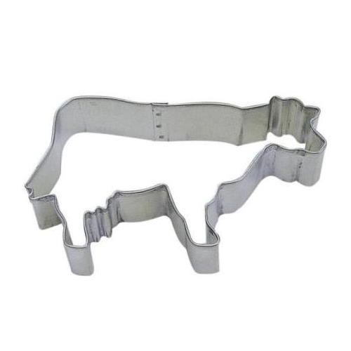 3.75″ Cow Cookie Cutter
