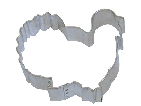 4″ Turkey Cookie Cutter