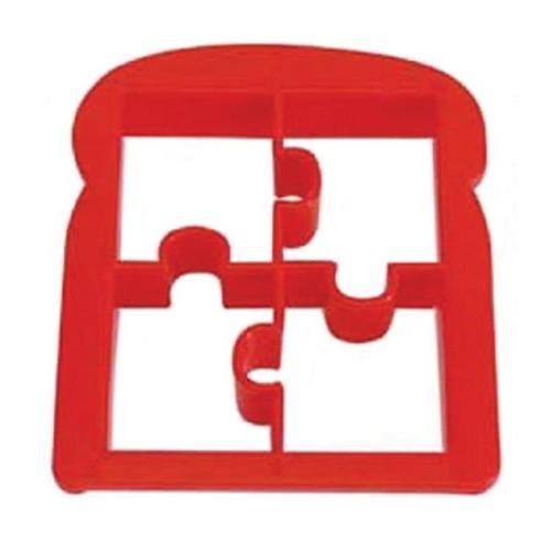 New Plastic Jigsaw Toast Cutter