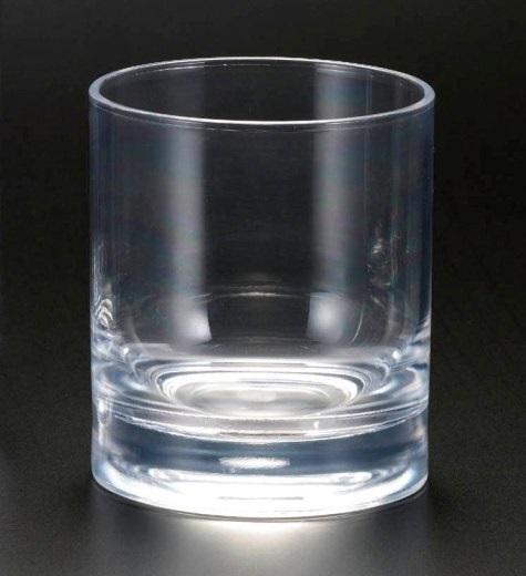 Heavy Base Acrylic 14 oz Hiball Glass