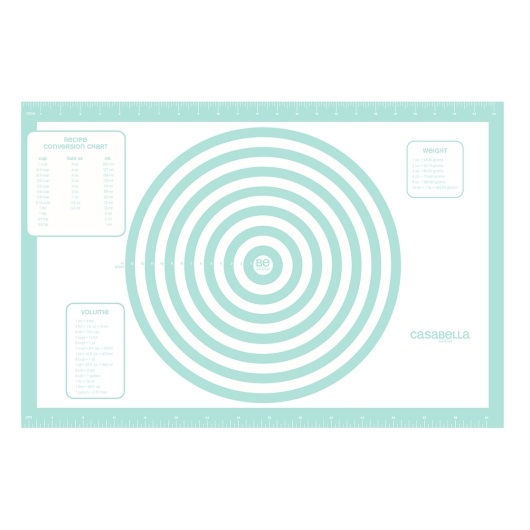 17″ x 25″ Silicone Large Pastry Rolling Mat