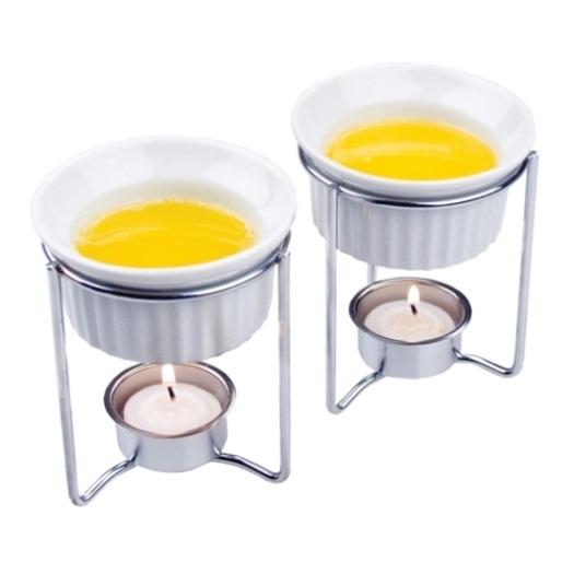 Ceramic Butter Melter Set of 2