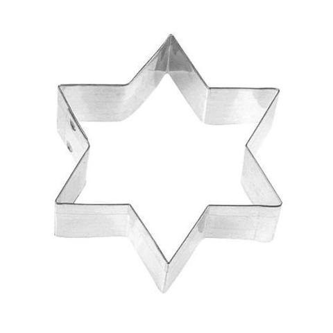 3″ 6-Point Star Cookie Cutter