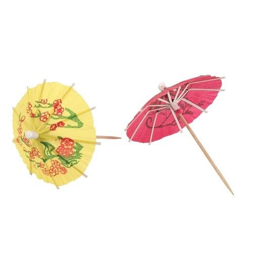 Paper Cocktail Umbrellas Set of 12
