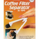 Coffee Filter Separator