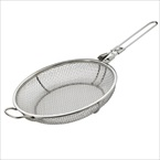 Stainless Steel Folding Grill Basket