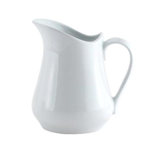 4 oz White Pitcher