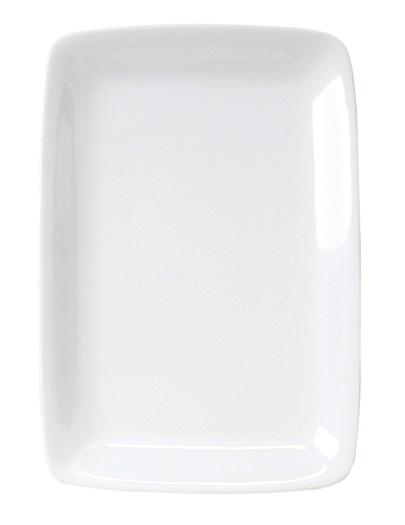 White Rectangular Platter 14″ x 9″