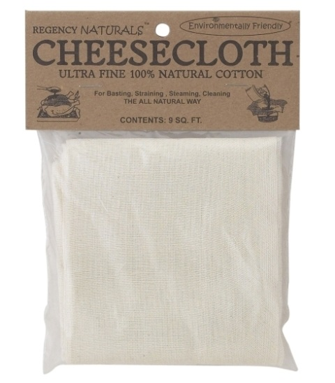 Fine Unbleached Cheesecloth 9 Sq Ft
