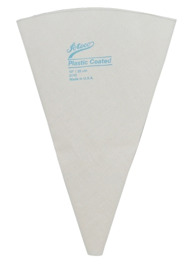 16″ Plastic Lined Canvas Pastry Bag