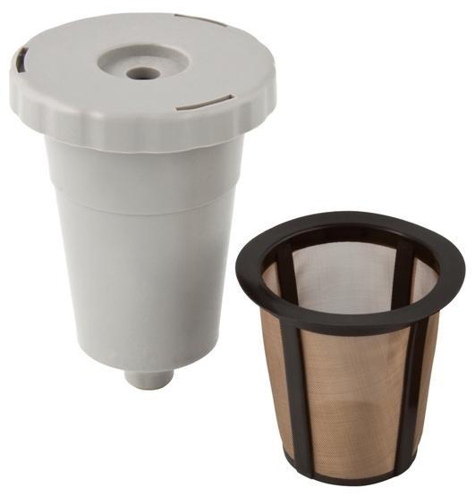 Gold Tone Reusable Keurig-Type Filter Cone
