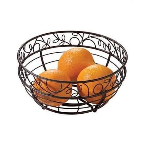 10″ Bronze Wire Twigz Fruit Bowl