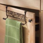 9″ Over Cabinet Bronze Twigz Towel Bar