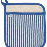 Royal Blue Stripe Superior Potholder