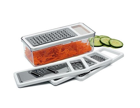 5-Piece Boxed Flat Cheese Grater Set