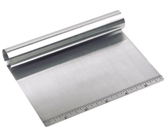 All Stainless Pastry Scraper Chop and Bash