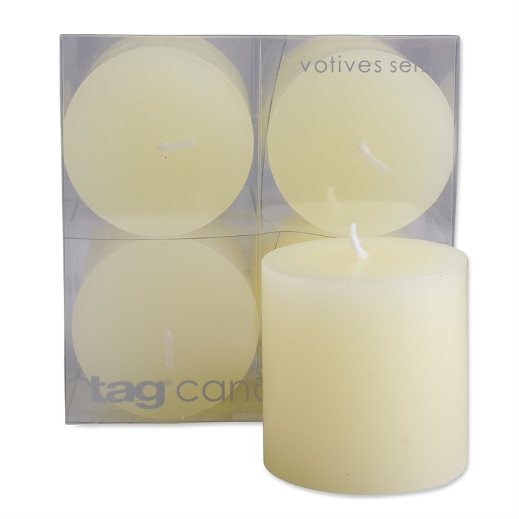2×2 Ivory Pillar Candles Set/4