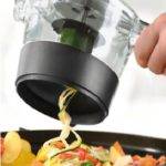 Handheld Vegetable Spiralizer with Container