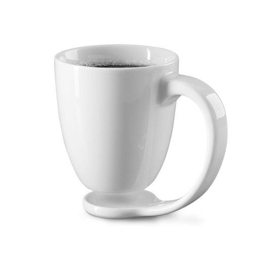 White Floating Mug
