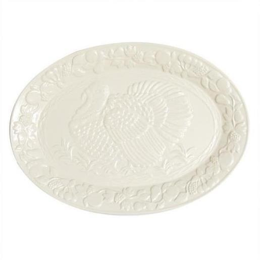 18″ x 13″ Ceramic Turkey Platter
