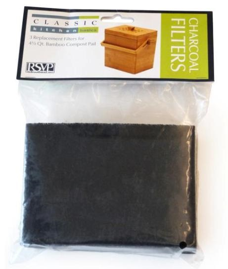 Filters for Square Bamboo Compost Bucket