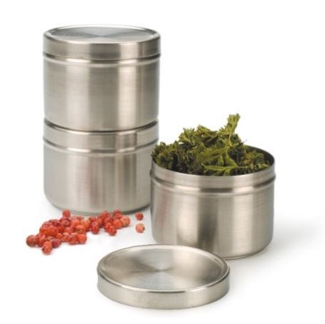 4 oz Stainless Spice Tin