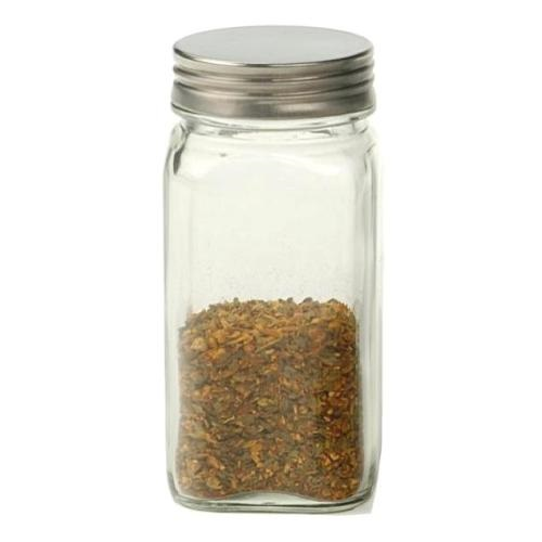 Replacement Square Glass Bottle with Stainless Lid