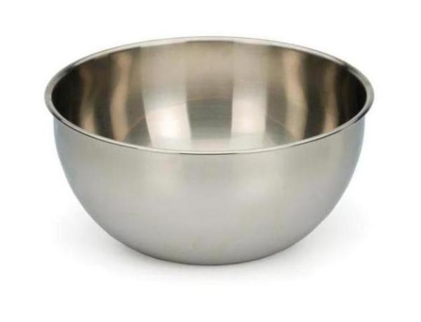 6 Quart Heavy Deep Stainless Steel Bowl