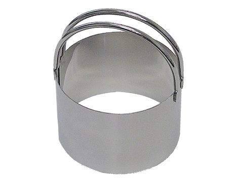 2.33″ Stainless SteelBiscuit Cutter with Handle