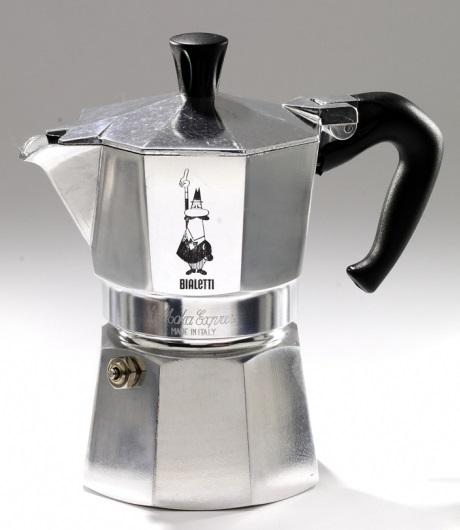 Bialetti 1 Cup Moka Express Aluminum Espresso Maker