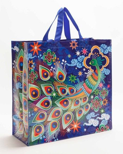 Peacock Shopping Bag