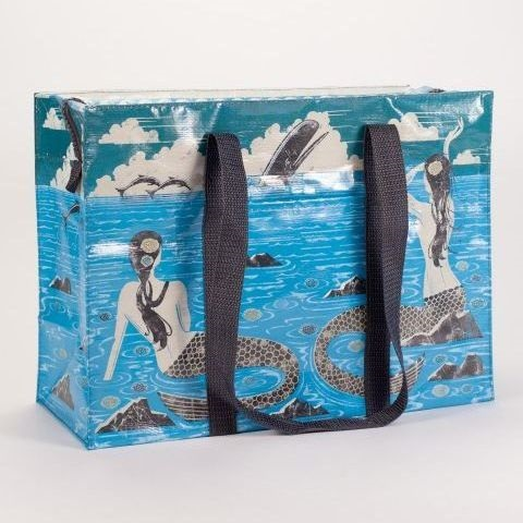 Mermaid Shoulder Tote Bag