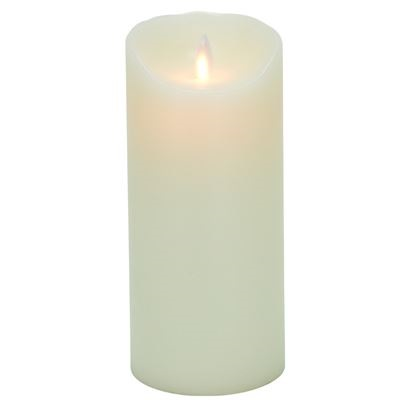 3.25″ x 7″ Flameless Flickering Candle