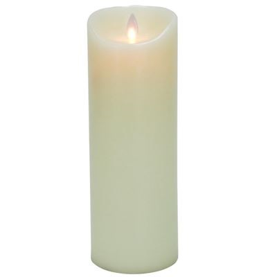 3.25″ x 9″ Flameless Flickering Candle