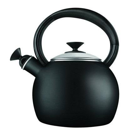 Copco Camden 1.5 Quart Black Teakettle