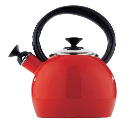 Copco Camden 1.5 Quart Red Teakettle