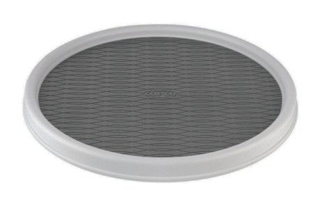 12″ White Plastic Turntable