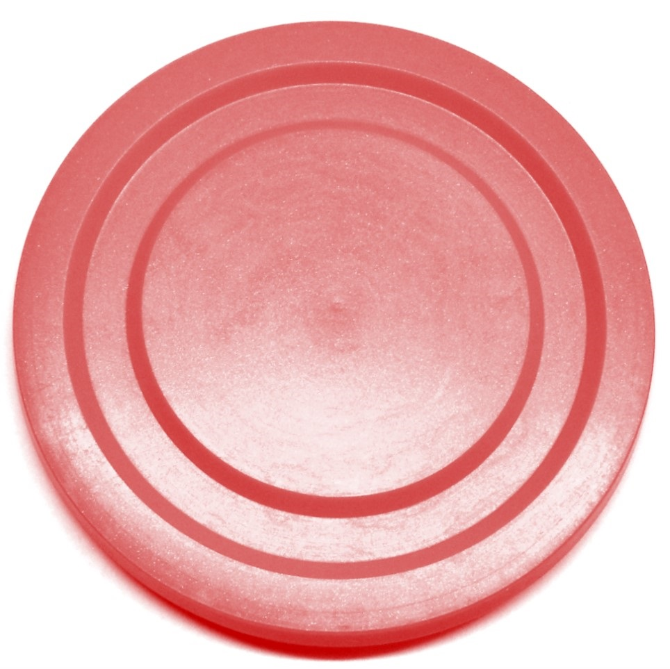Red Plastic Lid for Working Glasses