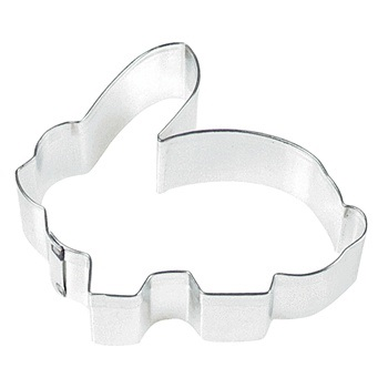 3″ Crouching Rabbit Cookie Cutter