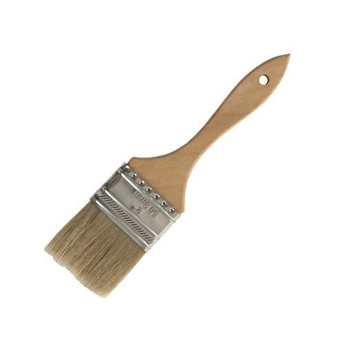 2″ Wood Handle Natural Bristle Pastry Brush