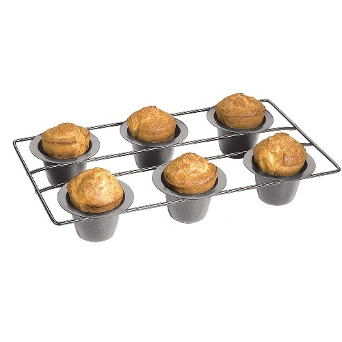 Nonstick 6 Cup Popover Pan