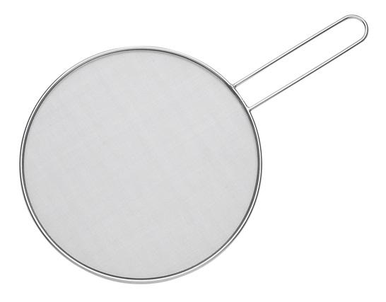 11.5″ Stainless Splatter Shield with Loop Handle