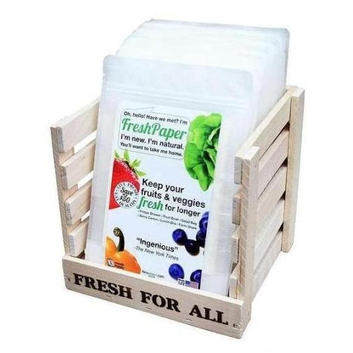 Fresh Paper Produce Saver Pack of 8
