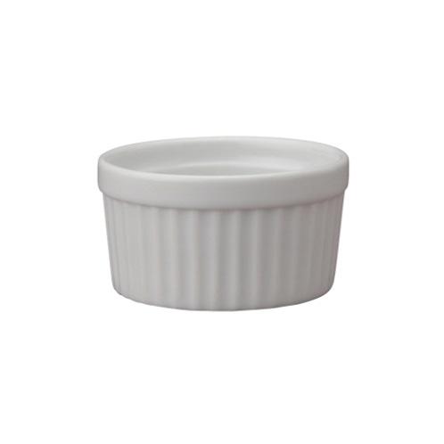 2 oz White Ceramic Ramekin