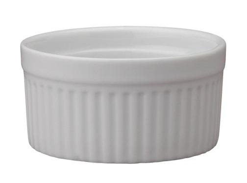 6 oz White Ceramic Ramekin