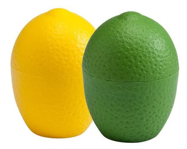 Individual Plastic Citrus Keeper – Lemon or Lime