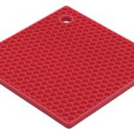 Red Square Silicone Potholder